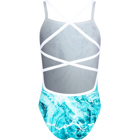 Funkita Strapped In One Piece Bañador Niñas, mint marble